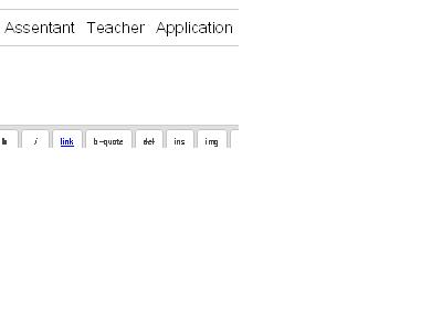 I need Primary School Assistant Teacher Application Form link