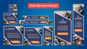 খুব সহজে ফটোশপ মাধ্যমে Web Banner ডিজাইন তৈরি করুন!